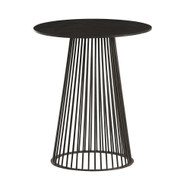 Lou Accent Table - Blackened Iron