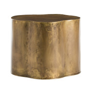 Lowry Side Table - Antique Brass