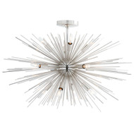 Zanadoo Fixed Chandelier - Polished Nickel