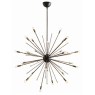 Imogene Large Chandelier - Vintage Brass