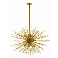 Zanadoo Large Chandelier - Antique Brass