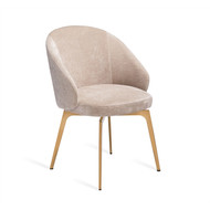 Amara Dining Chair - Beige Latte