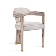 Maryl II Dining Chair - Cream Linen