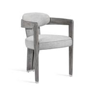 Maryl II Dining Chair - Grey Linen