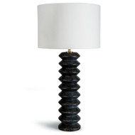 Accordion Table Lamp - Ebony