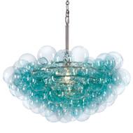 Bubbles Chandelier - Aqua