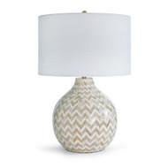 Chevron Bone Table Lamp - Multi Color