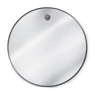 Hanging Circular Mirror - Steel