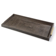 Rectangle Boutique Tray in Vintage Brown Snake