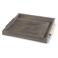 Square Boutique Tray - Vintage Brown Snake