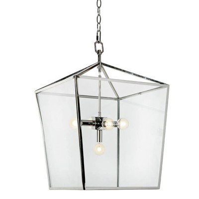 Camden Lantern - Polished Nickel