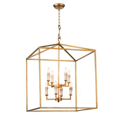 Regina Andrew Cape Lantern - Antique Gold Leaf