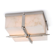 Regina Andrew Gotham Flush Mount - Polished Nickel