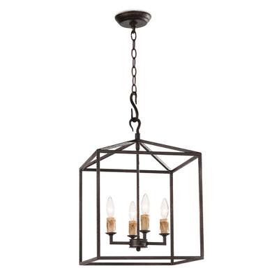 Regina Andrew Cape Lantern Small - Black Iron