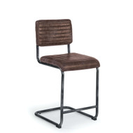 Regina Andrew Dylan Counter Stool - Set of 2 - Distressed Whiskey