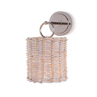 Regina Andrew Nantucket Sconce - Polished Nickel