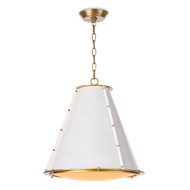 Regina Andrew French Maid Chandelier Small - White