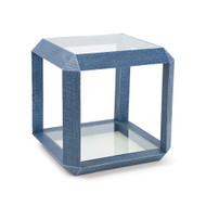 Regina Andrew Aegean Side Table - Indigo