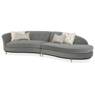 Caracole Three's Company Right Arm Facing Chaise Sectional Sectional