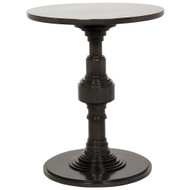 Noir Apollo Side Table - Pale