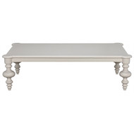 Noir Graff Coffee Table - Solid White
