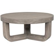 Noir Joel Coffee Table - Distressed Grey