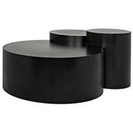 Noir Ella Coffee Table - Metal