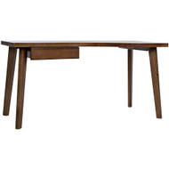 Noir Adonis Desk - Dark Walnut