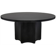 Noir Rome Dining Table - Metal