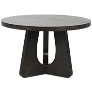 "Noir Nobuko Dining Table - 48"" - Pale"