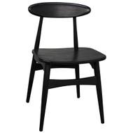 Noir Surf Chair - Charcoal Black