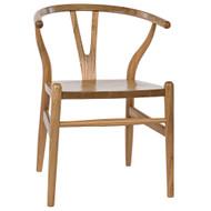 Noir Zola Chair - Natural