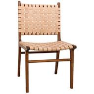 Noir Dede Dining Chair - Teak