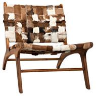 Noir Kamara Chair - Cow Hide