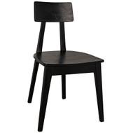 Noir Kimi Chair - Charcoal Black