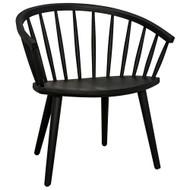 Noir Pauline Chair - Charcoal Black