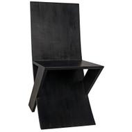 Noir Tech Chair - Charcoal Black