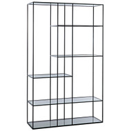 Noir Tulou Shelves - Large - Metal