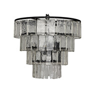 Noir Carnegie Chandelier - Medium