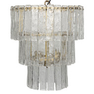 Noir Bruna Chandelier - Small - Antique Brass