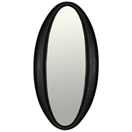 Noir Woolsey Mirror - Charcoal Black