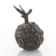 Global Views Brain Plum - Bronze