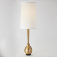 Global Views Bulb Floor Lamp - Brushed Brass