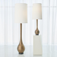 Global Views Bulb Floor Lamp - Light Bronze