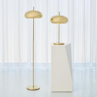Global Views Dome Floor Lamp - Brass