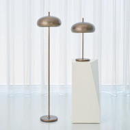 Global Views Dome Floor Lamp - Light Bronze