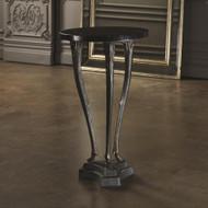 Global Views Fawn Leg Side Table - Bronze