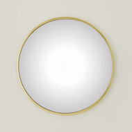 Global Views Hoop Convex Mirror - Brass - Lg