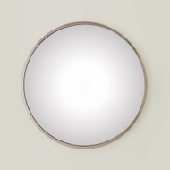Global Views Hoop Flat Mirror - Nickel - Sm