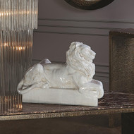 Global Views Lion Sculpture - Italian Ceramic